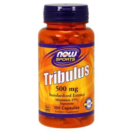 NOW Tribulus 500mg, 100 капсул