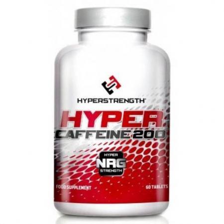 HyperStrength Hyper Caffeine 200, 60 таблеток