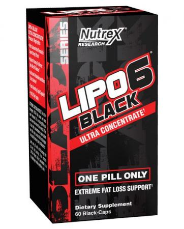 Nutrex Research Lipo-6 Black Ultra Concentrate, 60 капсул