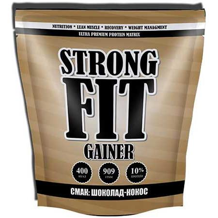 Strong Fit Gainer Low Protein, 909 грамм - шоколад-кокос