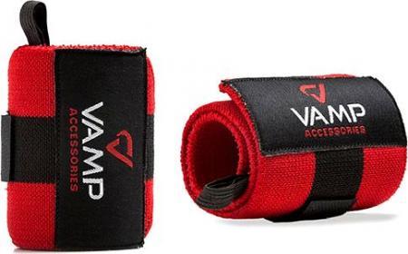 Бинт кистевой VAMP Accessories - красный