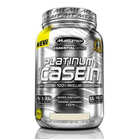 Muscletech Platinum 100% Casein, 830 грамм
