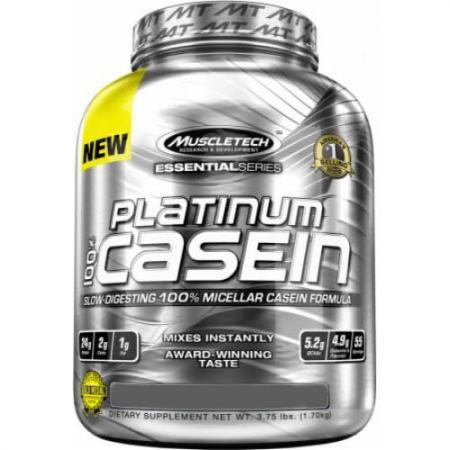 Muscletech Platinum 100% Casein, 1.65 кг