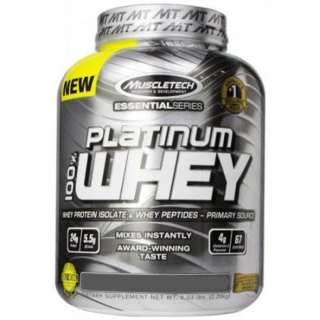 Muscletech Platinum 100% Whey, 2.2 кг