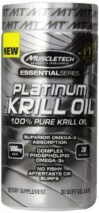 Muscletech Platinum Pure Krill Oil, 30 капсул