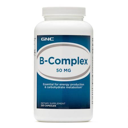 GNC B-Complex 50, 250 капсул