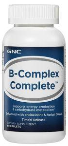 GNC B-Complex Complete, 60 каплет