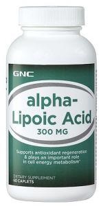 GNC Alpha-Lipoic Acid 300, 60 каплет