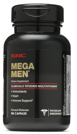 GNC Mega Men, 90 капсул
