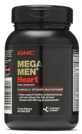 GNC Mega Men Heart, 90 каплет