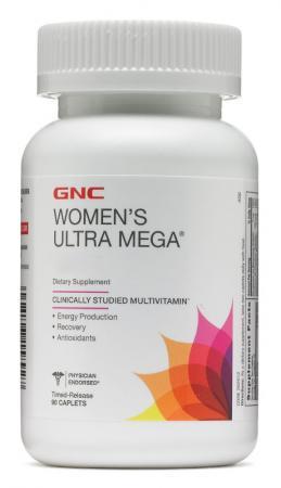 GNC Womens Ultra Mega, 90 каплет