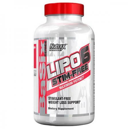 Nutrex Research Lipo-6 Stim Free