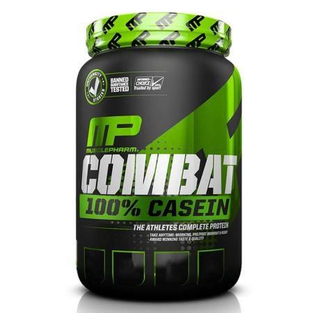 MusclePharm Combat 100% Casein, 900 грамм