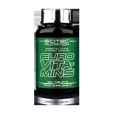 Scitec Euro Vita-Mins, 120 таблеток