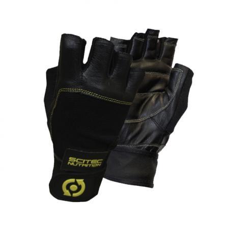 Перчатки мужские Scitec, Yellow Leather Style