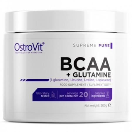 OstroVit BCAA + Glutamine, 200 грамм