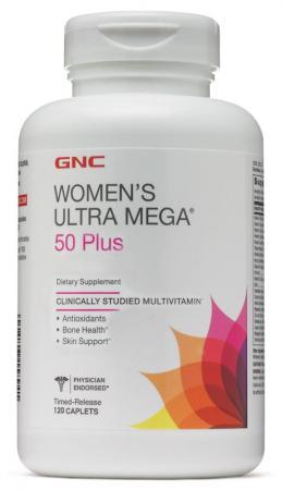 GNC Womens Ultra Mega 50 Plus, 120 каплет