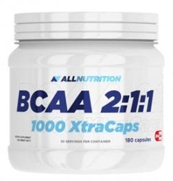 AllNutrition BCAA 2:1:1 1000 Xtra Caps, 180 капсул