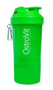 OstroVit Smart Shaker, 400 мл + 2 контейнера - зеленый