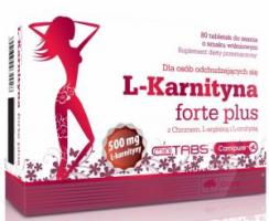 Olimp L-Carnitine Forte plus, 80 таблеток