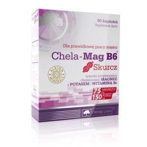 Olimp Chela-Mag B6 Skurcz, 60 капсул