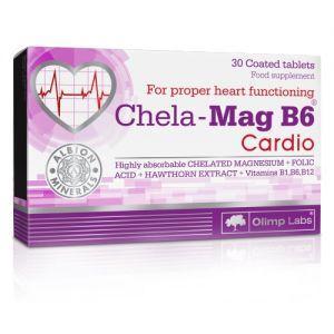 Olimp Chela-Mag B6 Cardio, 30 табл