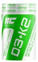 Muscle Care D3-K2, 90 табл
