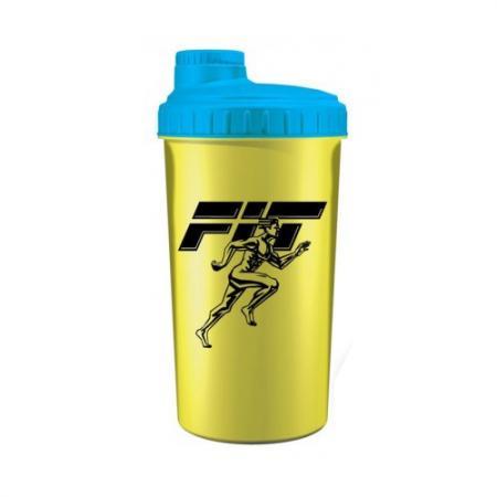 Fit MY Drink, 700 мл - желто-голубой