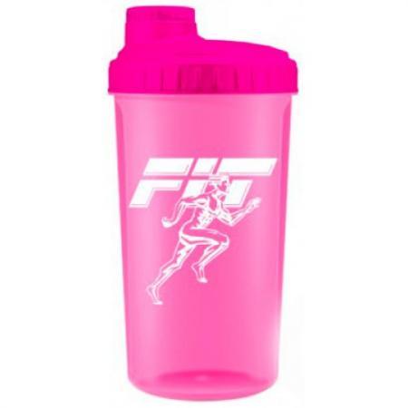 Fit MY Drink, 700 мл - розовый неон