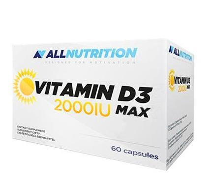 AllNutrition Vitamin D3 2000 Max, 60 капсул