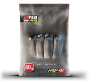 Power Pro Mix Fight Whey Protein, 40 грамм - лесной орех