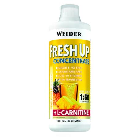 Weider Fresh Up Concentrate + L-Carnitine, 1 литр