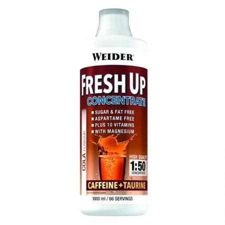 Weider Fresh Up Concentrate Caffeine + Taurine, 1 литр