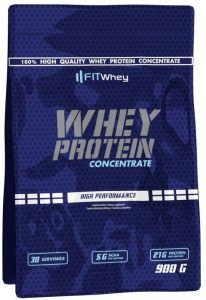 Fit Whey Whey Protein Concentrate, 900 грамм