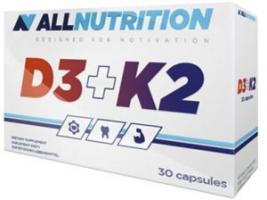 AllNutrition Vit D3+K2, 30 капс