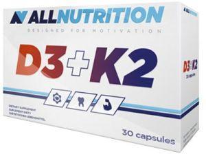 AllNutrition Vit D3+K2, 30 капсул