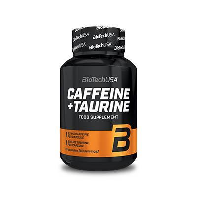 BioTech Caffeine + Taurine, 60 капсул