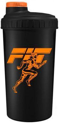 Fit MY Drink, 700 мл - черно-оранжевый