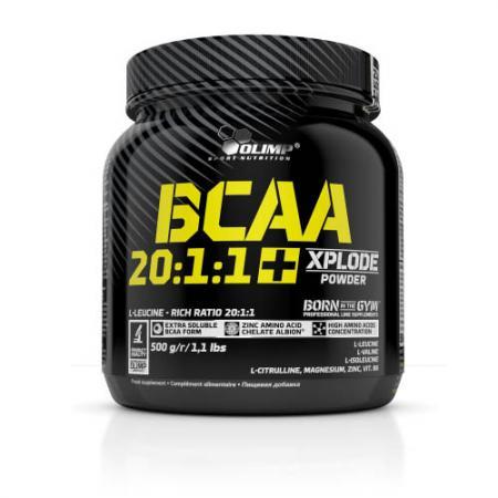 Olimp BCAA 20:1:1 Xplode, 500 грамм