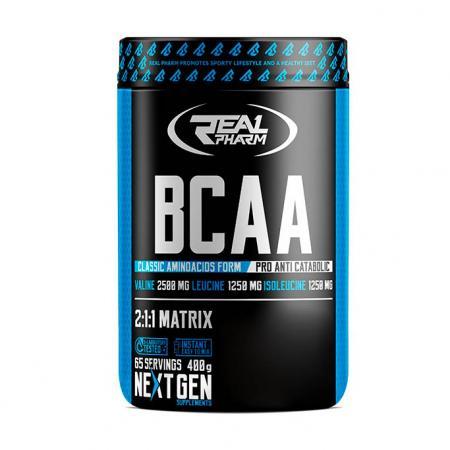 Real Pharm BCAA, 400 грамм