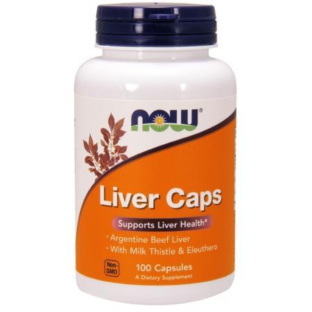 NOW Liver Caps, 100 капсул