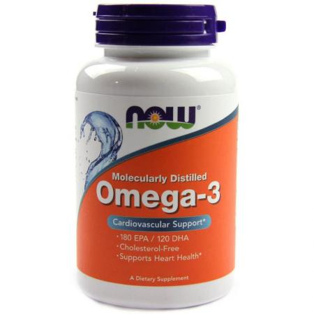 NOW Omega-3, 200 капсул