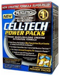 Muscletech Cell-Tech Power, 30 пакетиков