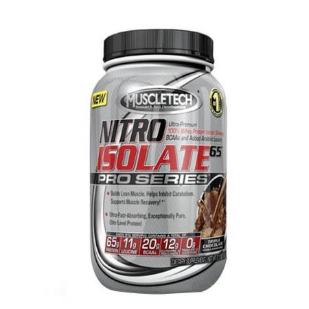Muscletech Nitro Isolate 65 Pro Series, 950 грамм