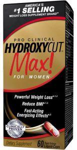 Muscletech Hydroxycut MAX Pro Clinical, 60 капс