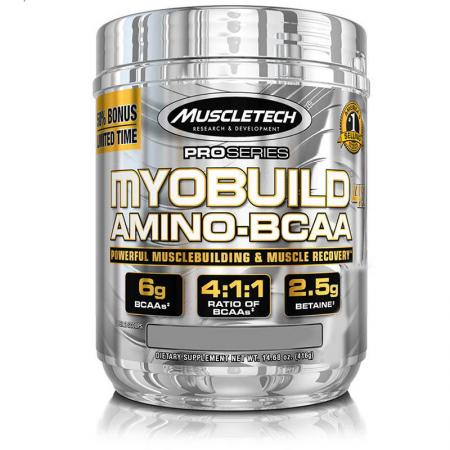 Muscletech MyoBuild, 416 грамма